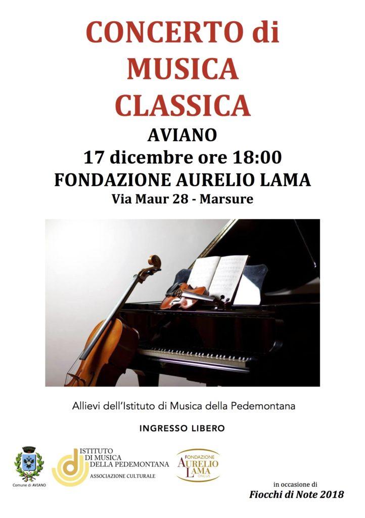Concerto Fondazione Lama