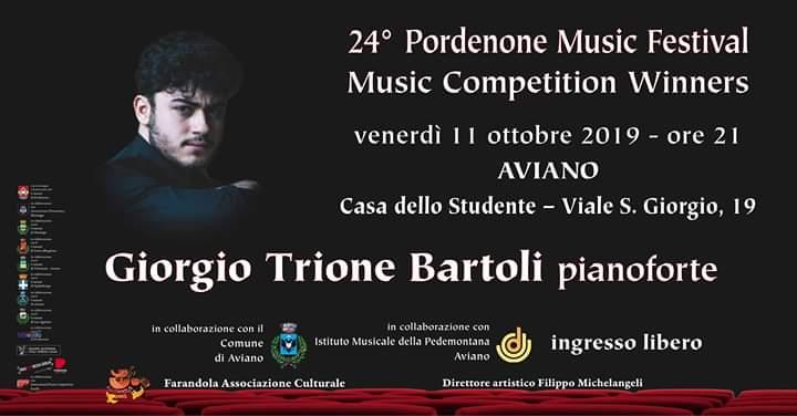Concerto Pianistico Giorgio Trione Bartoli