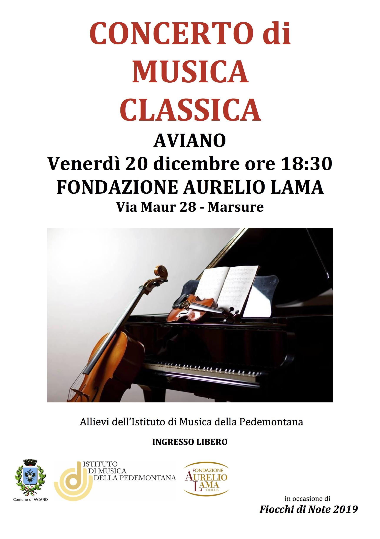 Concerto di Musica Classica alla Fondazione Lama