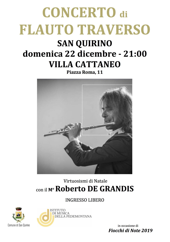 Roberto De Grandis in concerto