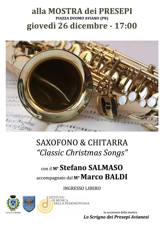 Sax e Chitarra S. Salmaso e M. Baldi